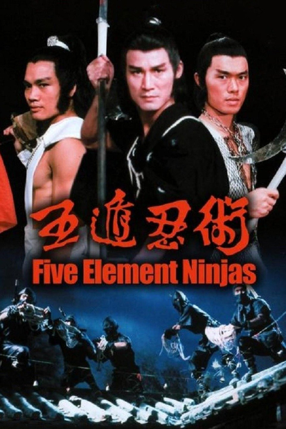 Image result for Five Element Ninjas