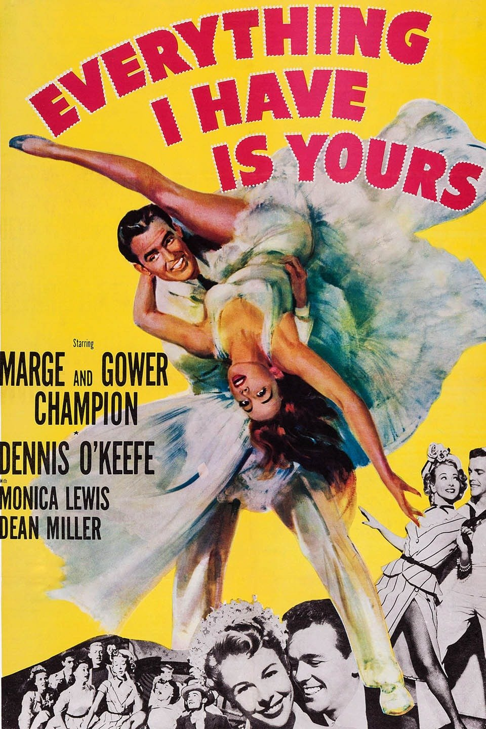 Image result for Everything I Have Is Yours 1952