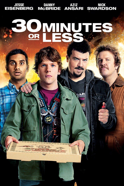 30 Minutes or Less (2011) 480P BRRip Dual Audio [Hindi-English]-275MB