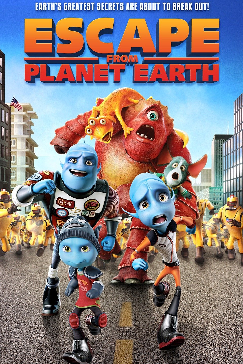 Escape from Planet Earth 2013 Hindi 300MB Full Movie Download HD