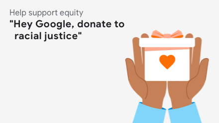 Donate to racial justice