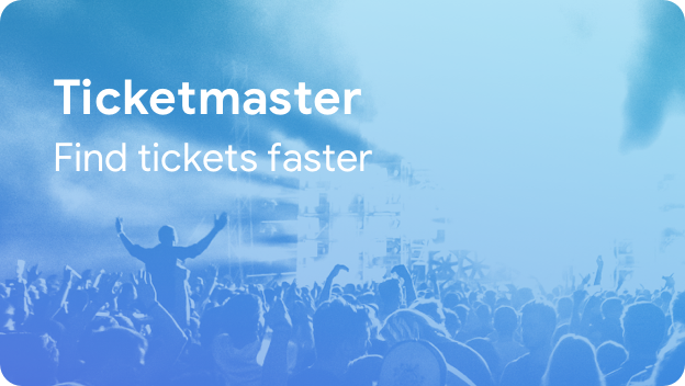 Find tickets faster