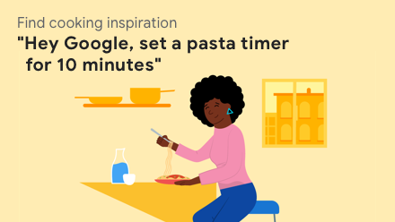 Set a pasta timer for 10 minutes