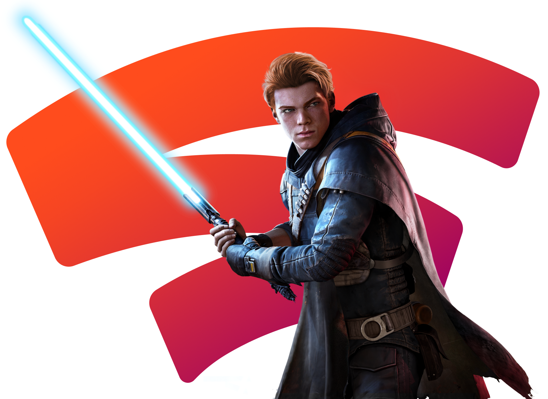 Image of game's hero.